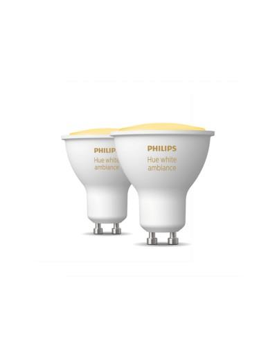 Philips HUE 2 бр. LED лампи GU10, 4.3W WA 871951434012100