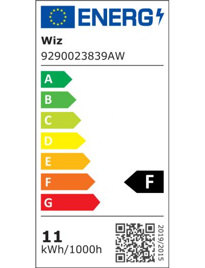 WiZ Wi-Fi LED лампа BLE 75W G95 Globe E27 RGBW 871869978635900