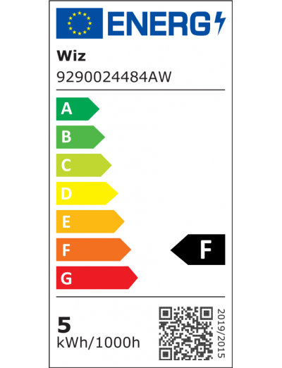 WiZ Wi-Fi LED лампа 50W BLE GU10 RGBW 871869978713400