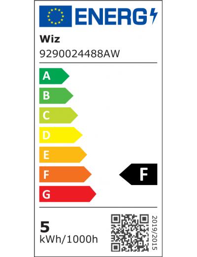 WiZ Wi-Fi LED лампа 40W BLE C37 E14 RGBW 871869978709700