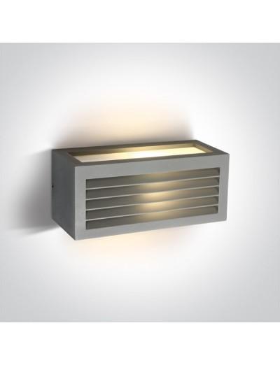 One light Аплик за монтаж на открито, E27, 20W, IP54 67328A/G