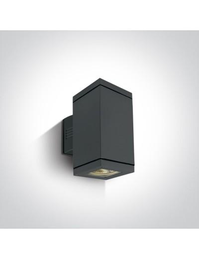 One light Аплик за монтаж на открито, E27, 2x75W, IP54 67132A/AN