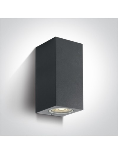 One light Аплик за монтаж на открито, GU10, 2x7W, IP65 67426A/AN