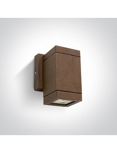 One light Аплик за монтаж на открито, GU10, 35W, IP54 67130F/BR