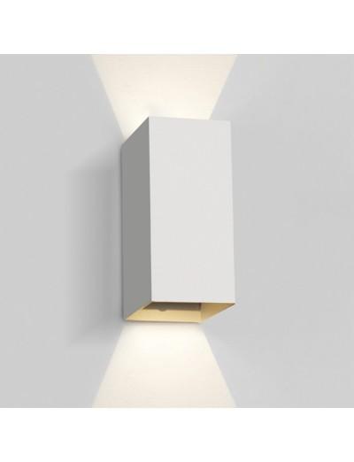One light LED аплик, 2x3W, IP54, топла бяла светлина 67398A/W/W