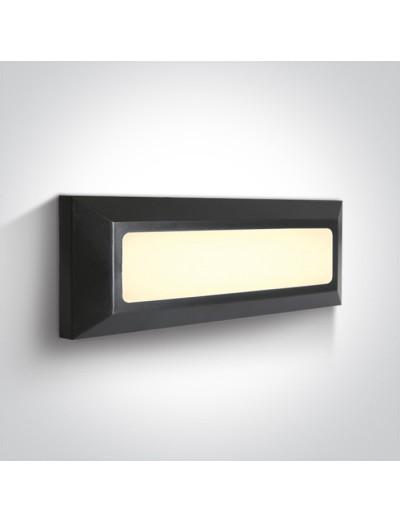 One light LED аплик, 3.5W, IP65, топла бяла светлина 67394/AN/W