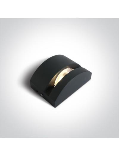 One light LED аплик, 6W, IP65, топла бяла светлина 67454/AN/W