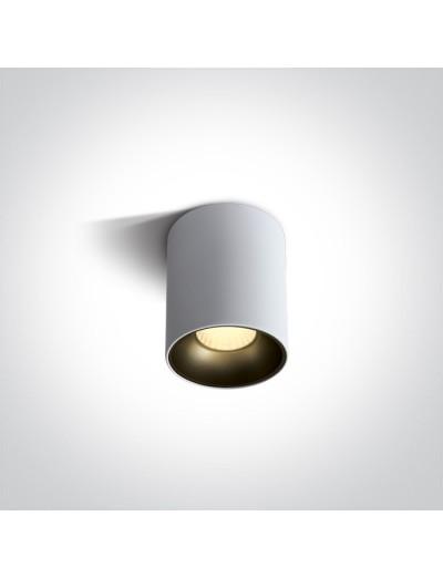 One light LED луна за външен монтаж, 12W, топла бяла светлина 12112Z/W/W