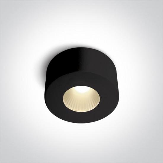 One light LED луна за външен монтаж, 7W, топла бяла светлина 12107V/B/W - Спотове