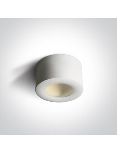 One light LED луна за външен монтаж, 8W, топла бяла светлина 12108FD/W/W