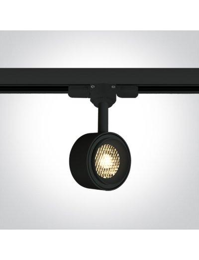 One light Спот за шина LED 8W топла бяла светлина 65644T/B/W