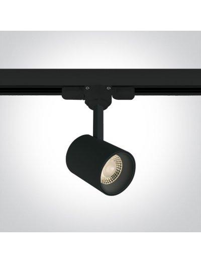 One light Спот за шина LED 8W топла бяла светлина 65646T/B/W
