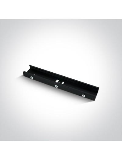 One light черен конектор за окачена шина 41032/B