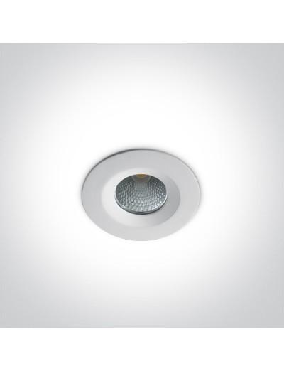 One light LED луна за вграждане 7W, неутрална светлина 10107CA/W/C