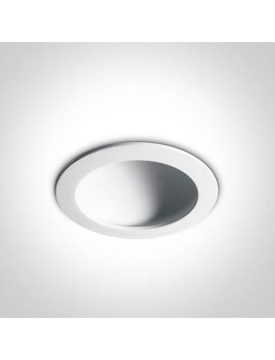 One light LED луна за вграждане 16W, топла бяла светлина 10116FD/W/W