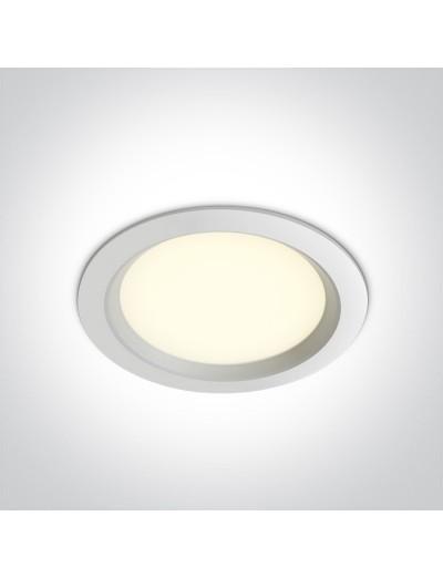 One light LED луна за вграждане 30W, неутрална светлина 10130T/W/C