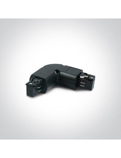 One light ъглов конектор за шина десен черен 41012/B/R