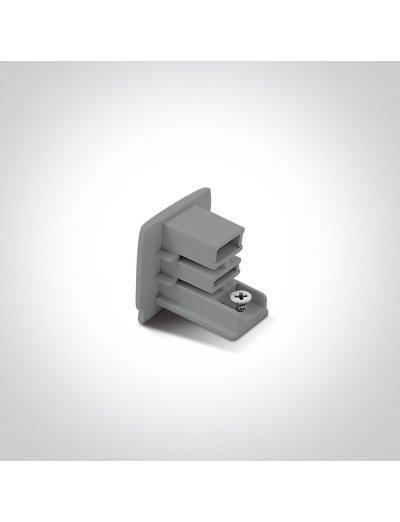 One light накрайник за шина сив 41022/W 41022A/G