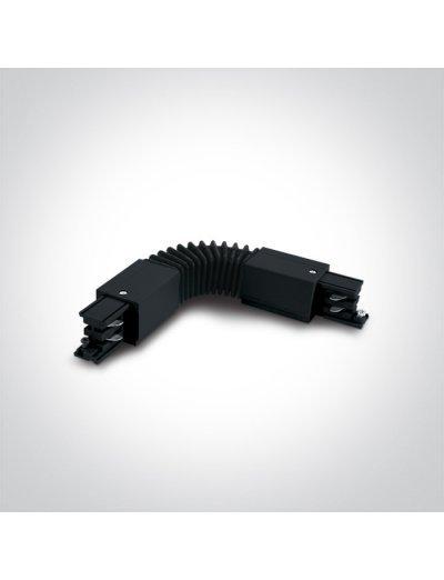 One light гъвкав ъглов конектор за шина черен 41024A/B
