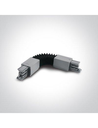 One light гъвкав ъглов конектор за шина сив 41024A/G