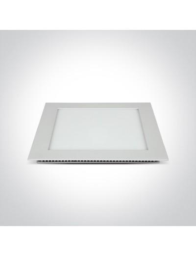 One light LED панел за вграждане, 22W, IP40, неутрална светлина 50122FA/W/C