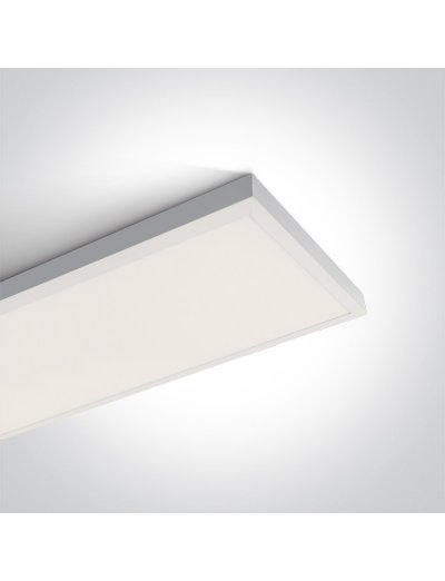 One light LED Панел  40W, IP40 топла бяла светлина 62140RE/W/W