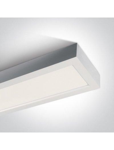 One light LED Панел  40W, IP40 топла бяла светлина 62140RF/W/W
