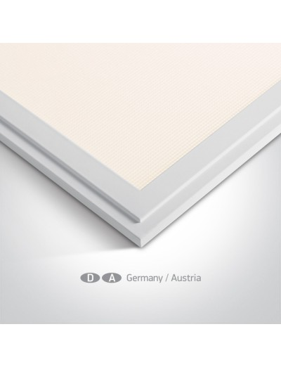 One light LED панел, 40W, 62x62, топла бяла светлина 50140AU/W/W