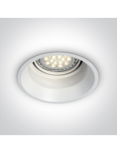 One light Луна за вграждане, G53, 50W, бяла 10110T/W
