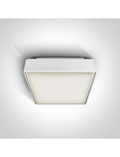 One light Плафониера 2хЕ27, 18W, IP65 67282A/W