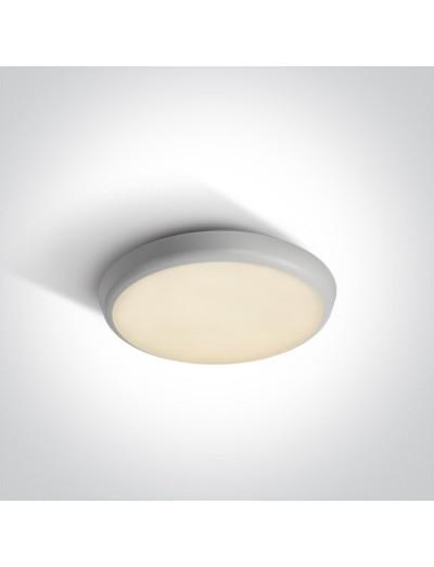 One light Плафониера LED 12W IP54 топла бяла светлина 67366/W/W