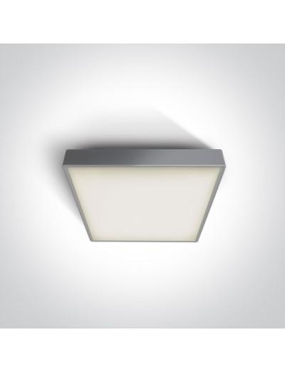 One light Плафониера LED 16W IP65 Топла бяла светлина 67282N/G/W