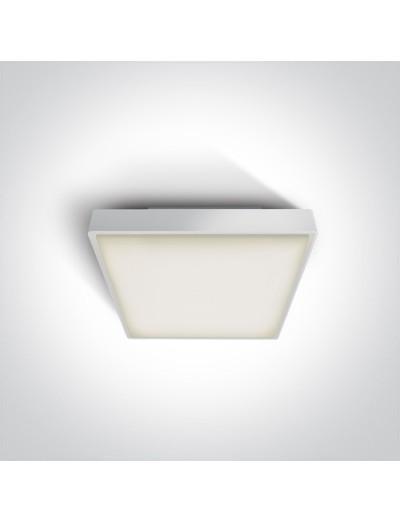 One light Плафониера LED 16W IP65 Топла бяла светлина 67282N/W/W
