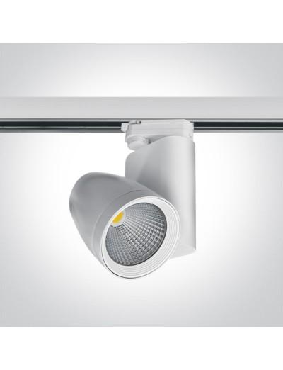 One light Спот за шина LED 25W топла бяла светлина 65630T/W/W