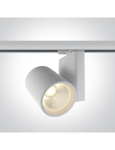 One light Спот за шина LED 42W топла бяла светлина 65614NT/W/W