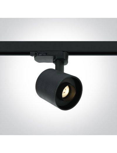One light Спот за шина LED 6W топла бяла светлина 65656AT/B/W