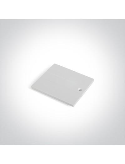 One light капак за захранване, бял 41004B/W