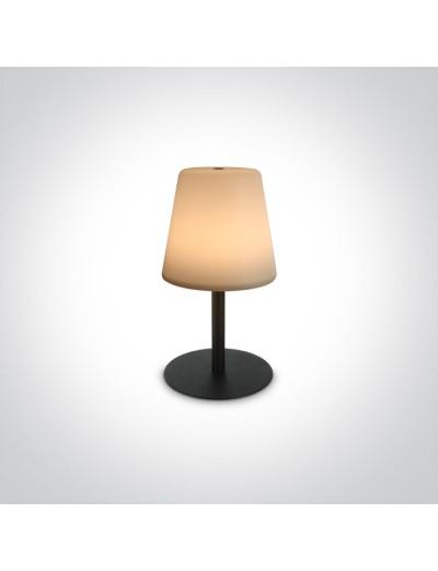 One light презареждаема настолна LED лампа IP44 80Lm 61084/B