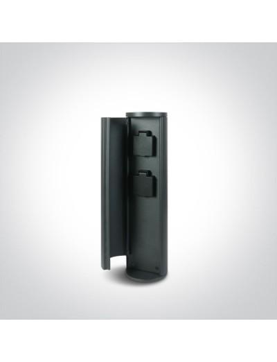 One light Влагозащитен контакт IP44, 2x1000W 67494/AN