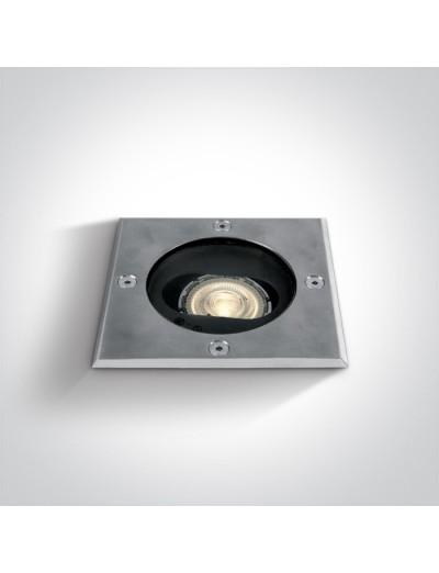 One light LED луна за вграждане в земя, 10W, GU10, IP67  69048G