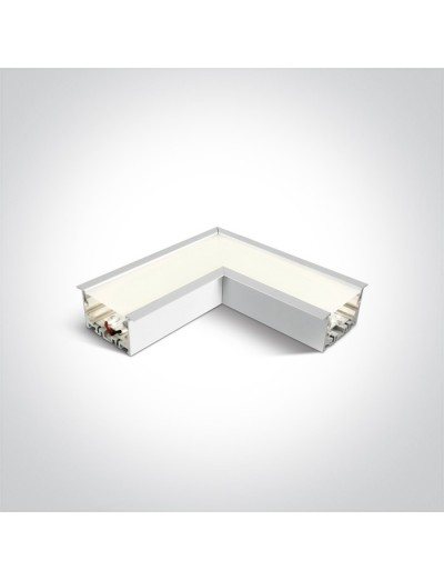 One light Ъглов конектор неутрална светлина 38152RC/W/C