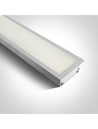 One light LED панел за вграждане 40W неутрална светлина 38150AR/W/C
