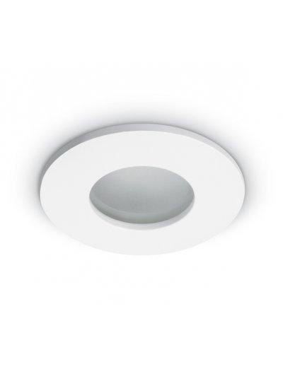 One light Луна за вграждане - за баня бяла метал кръгла MR16 GU5.3 50W - 12V IP44 10105R/W