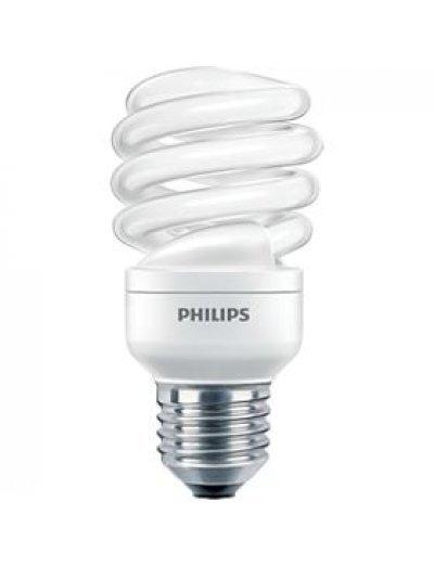 Philips Енергоспестяваща компактна лум. лампа Twister 15 W E27 студена светлина