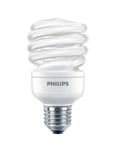 Philips Енергоспестяваща компактна лум. лампа Twister 20 W E27 студена светлина