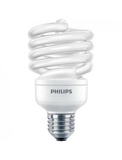 Philips Енергоспестяваща компактна лум. лампа Twister 23 W E27 студена светлина