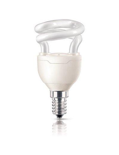 Philips Енергоспестяваща компактна лум. лампа Tornado 5 W E14 топла светлина