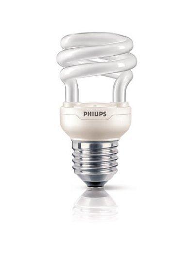 Philips Енергоспестяваща компактна лум. лампа Tornado 8 W E27 топла светлина