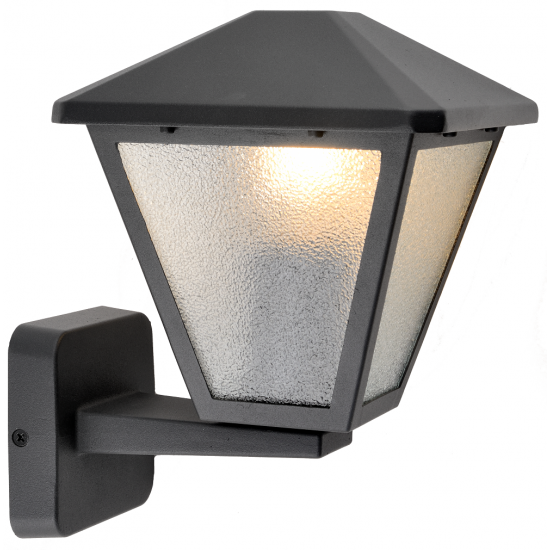 Belight Градинска лампа долен носач 1хE27 Черен IP44 34071-01-30 - Градински лампи