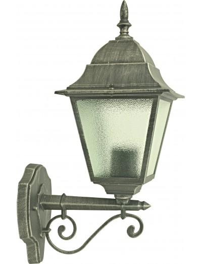 Belight Градинска лампа долен носач 1xЕ27 max 60W, сребърна патина 34001-01-54